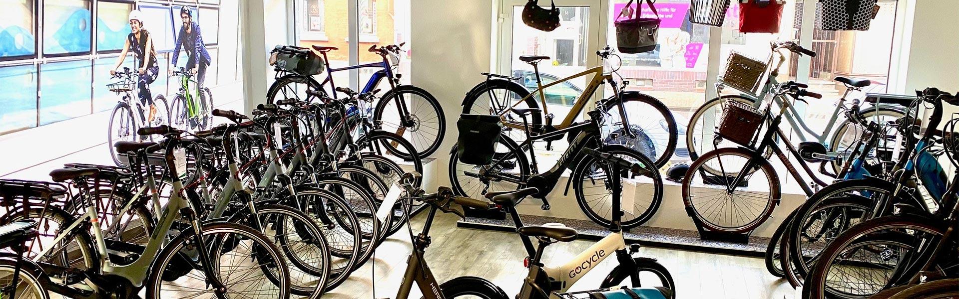 Titelbild e-motion e-Bike Welt Tönisvorst Shop