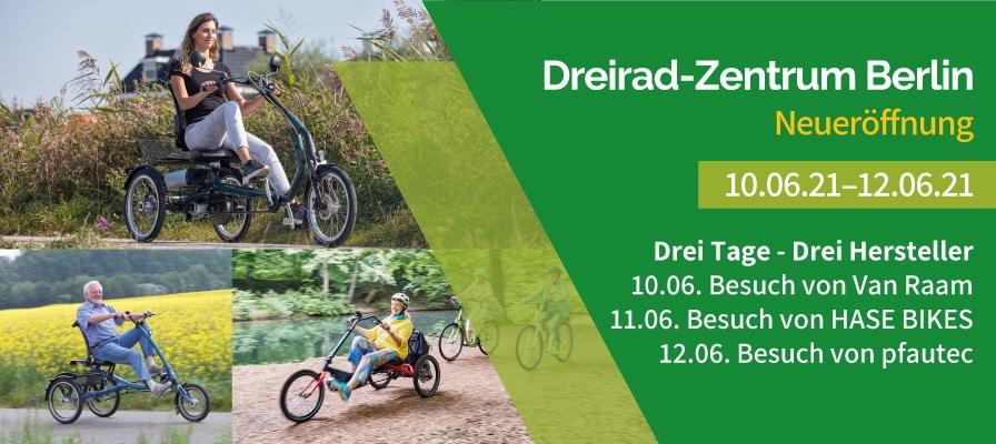 Eröffnung Dreirad-Zentrum Berlin