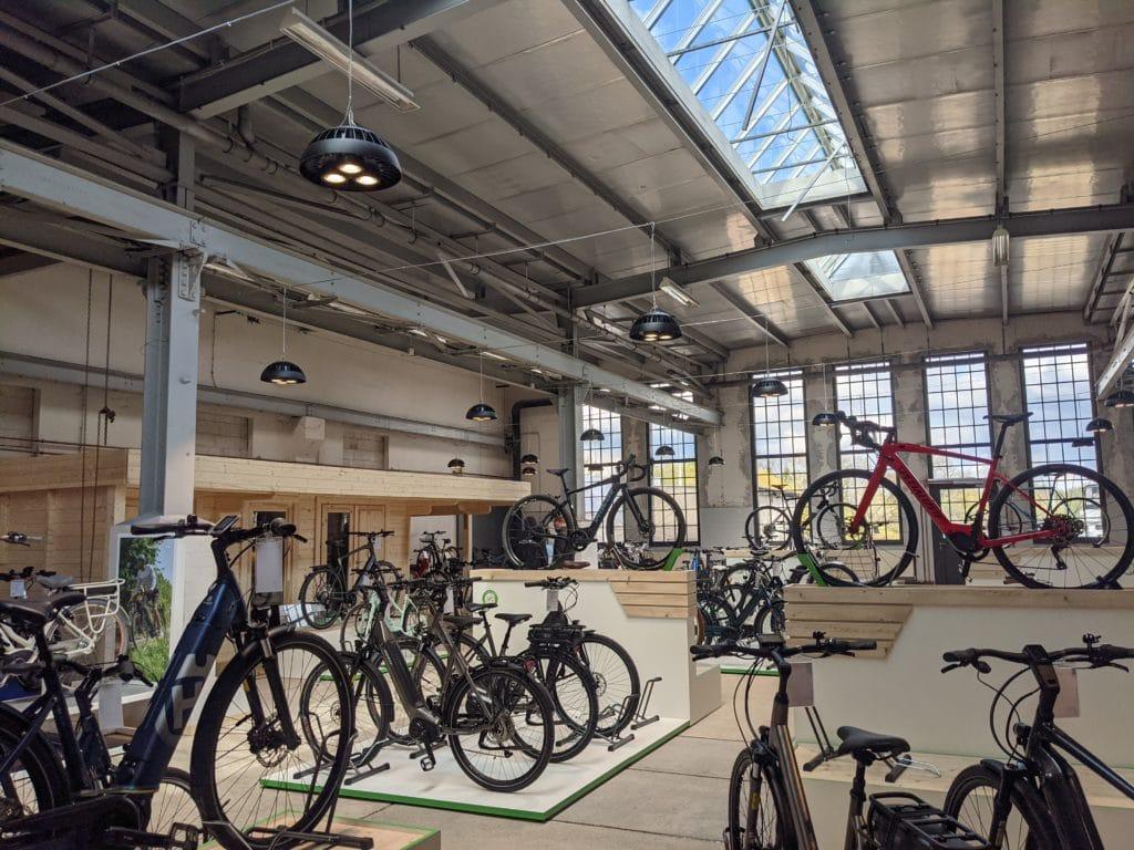 Erste Bilder aus der e-motion e-Bike Welt Werder