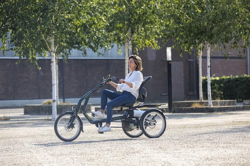 Frau auf Easy Rider 3