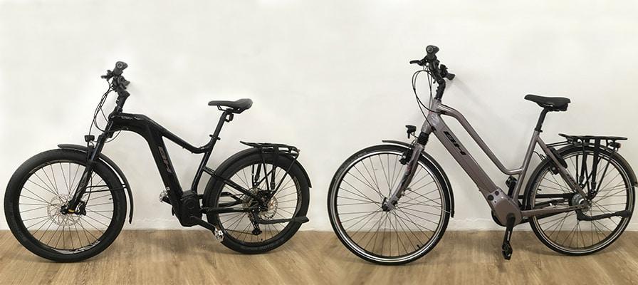 BH Bikes in der e-motion e-Bike Welt Bonn