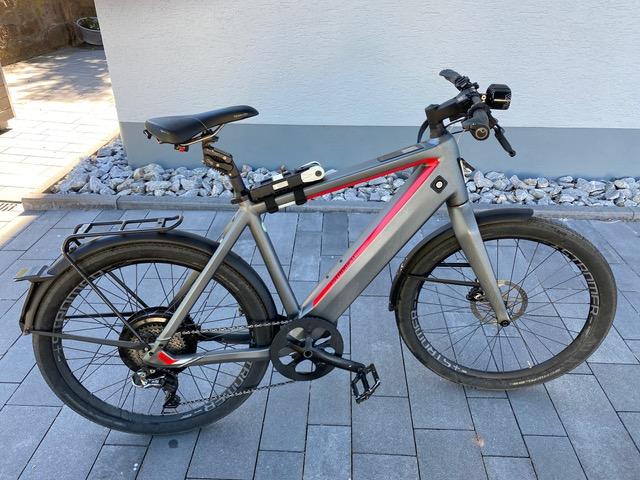 Stromer ST2 S 2018 E-Trekking Bike Grau