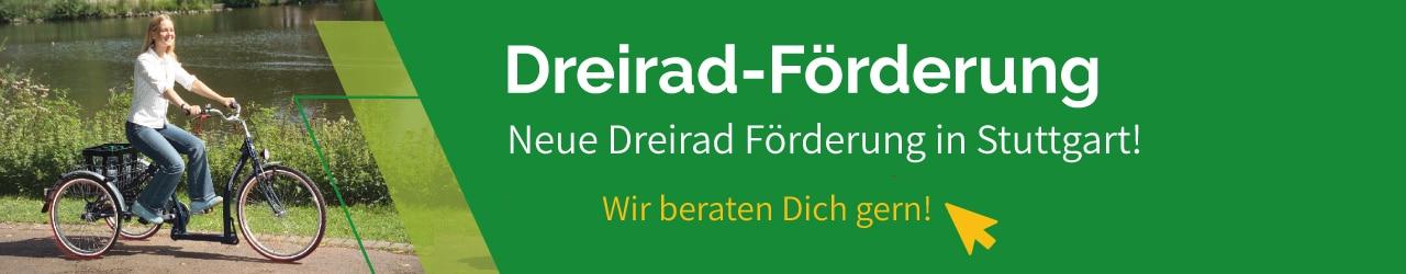 Dreirad Förderung in Stuttgart in der e-motion e-Bike Welt Stuttgart