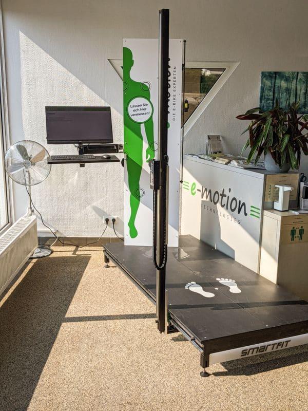 Smartfit in der e-motion e-Bike Welt Worms