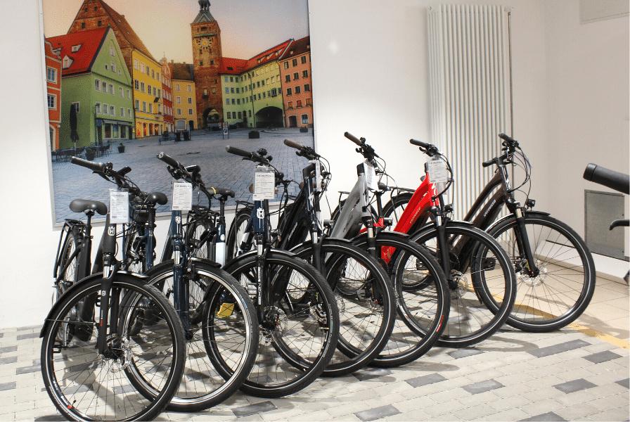 e-motion e-Bike Welt Fuchstal e-Bike Bestand