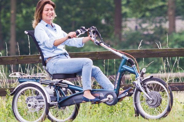 Van Raam Easy Rider 2 Dreirad mit Frau
